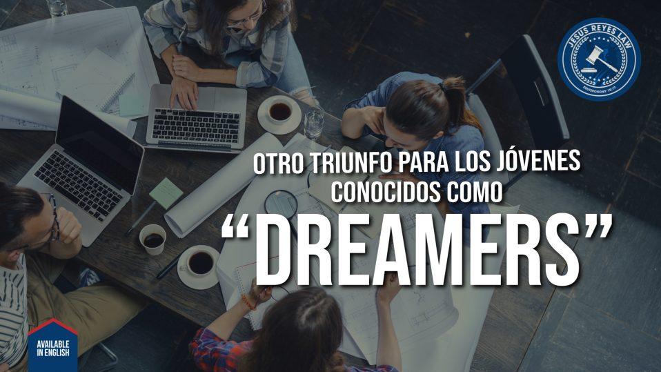 """Otro triunfo para los Jóvenes conocidos como """"Dreamers"""""""